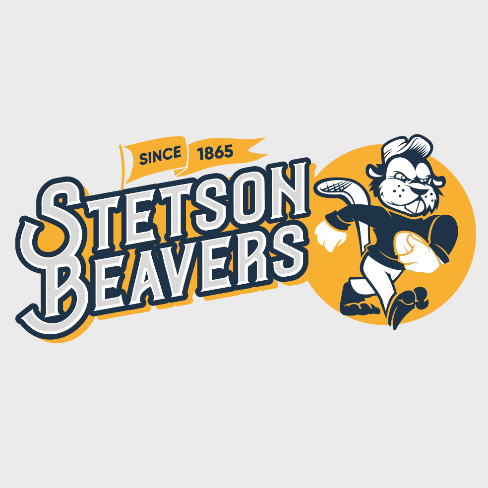 STETSON BEAVERS LOGO 2020 FOOTBALL